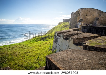 San Juan, Puerto Rico - stock photo