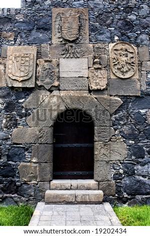 San Miguel Castle in Garachico Tenerife Canary Islands Spain - stock photo