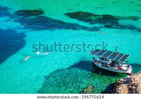 San Miguel - Ibiza - Balearic Islands - Spain - stock photo
