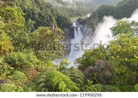 SAN RAFAEL FALLS, THE LARGEST WATERFALL IN ECUADOR