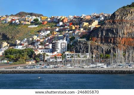 San Sebastian de la Gomera, Canary Islands, Spain - stock photo