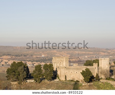 San Servando castle (Castillo de San Servando) is a 14th century castle in mudejar style in Toledo, Castilla La Mancha, Spain.