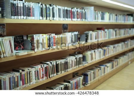 San Vicente del Raspeig, Spain. May 23, 2016: Public Library of San Vicente del Raspeig - stock photo