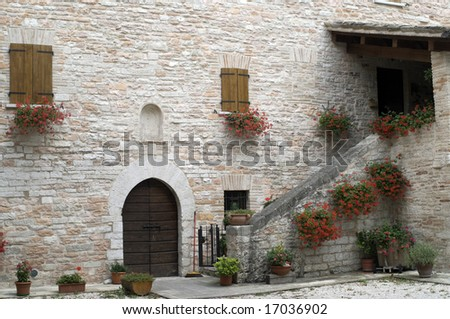 San Vincenzo al Furlo (Pesaro Urbino, Marche, Italy) - Old house near the church of San Vincenzo al Furlo