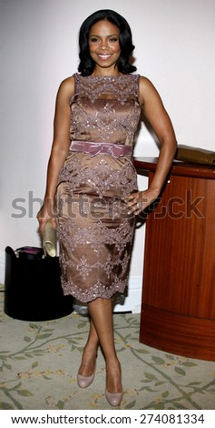 Sanaa Lathan at the 2009 Essence Black Women in Hollywood Luncheon held at the Beverly Hills Hotel in Beverly Hills on February 19, 2009.  - stock photo