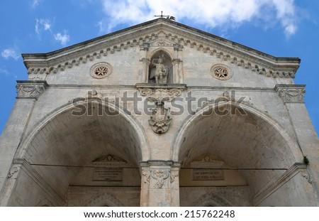 Sanctuary of Monte Sant'Angelo, Gargano, Italy - stock photo