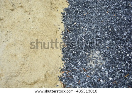 Sand and gravel   texture