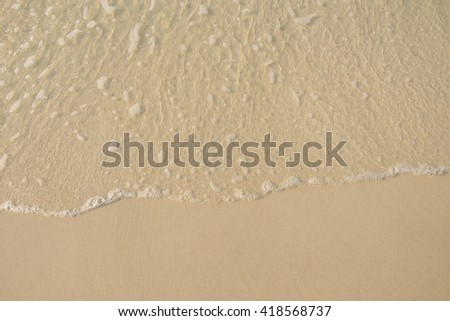 sand and sea wave background.