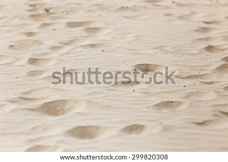 sand as a background