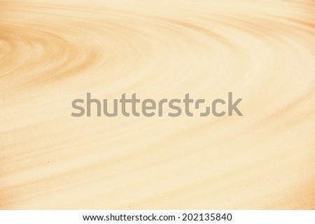 Sand background of bull fighting arena spain - stock photo