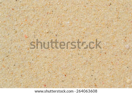 Sand beach texture for backgrounds - stock photo