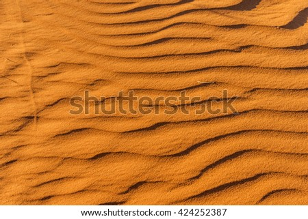 sand blurred background close up