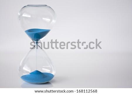 Sand Clock - stock photo