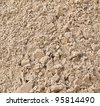sand closeup as texture - stock photo