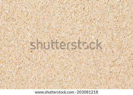 sand closeup as texture for background - stock photo
