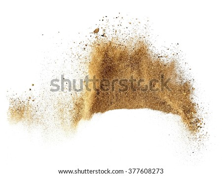 Sand explosion