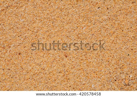 sand in the world