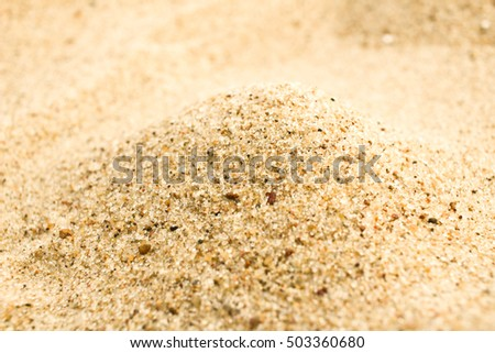 Sand macro background texture