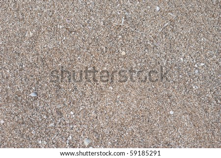 Sand of the sea as background