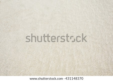 sand on the beach in the summer