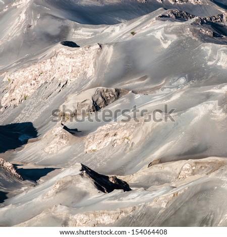 Sand sea texture background - stock photo