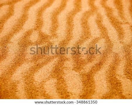Sand seamless background - stock photo