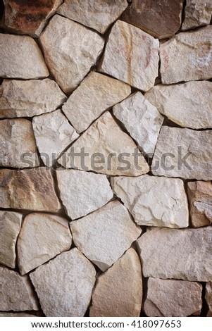 sand stone parts ,stone wall texture background
