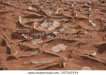 sand structures - background
