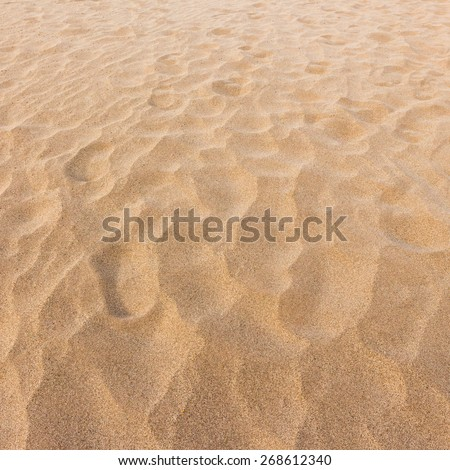 Sand texture and background - stock photo