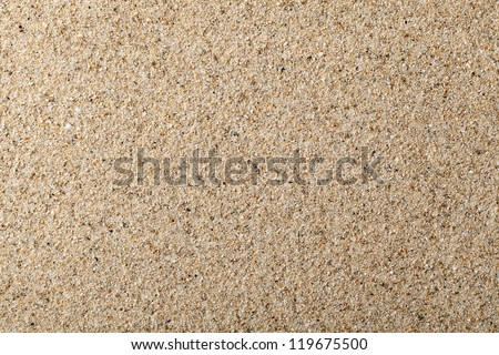 Sand texture for background. Close up, top view - stock photo