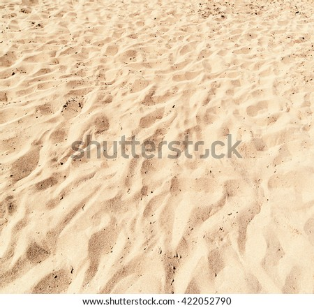 Sand Texture / sand pattern / White Sand Background close up / Beach Wallpaper - stock photo