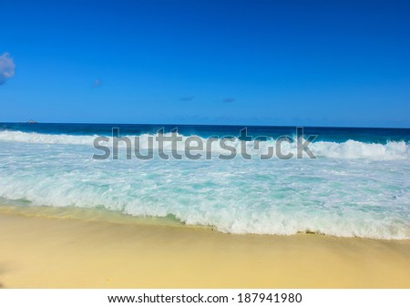 Sand Tide Waters  - stock photo