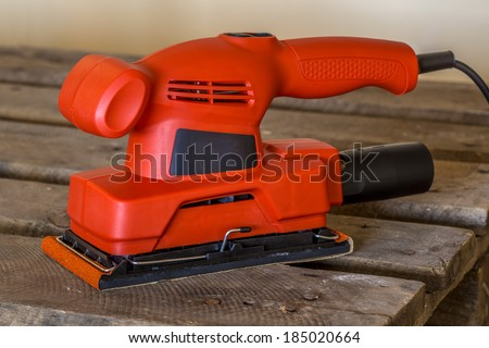 Sander tool - stock photo