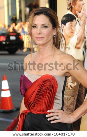 Sandra Bullock  at the Los Angeles Premiere of 'All About Steve'. Grauman's Chinese Theatre, Hollywood, CA. 08-26-09