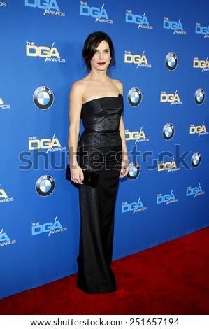 Sandra Bullock at the 66th Annual Directors Guild Of America Awards held at the Hyatt Regency Century Plaza Hotel in Los Angeles on January 25, 2014 in Los Angeles, California.  - stock photo