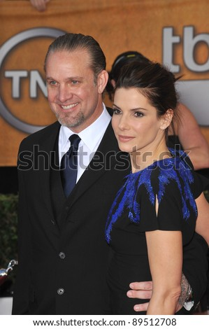 Sandra Bullock & Jesse James at the 16th Annual Screen Actor Guild Awards at the Shrine Auditorium. January 23, 2010  Los Angeles, CA Picture: Paul Smith / Featureflash