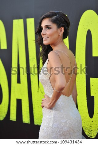 "Sandra Echeverria at the world premiere of her movie ""Savages"" at Mann Village Theatre, Westwood. June 26, 2012  Los Angeles, CA Picture: Paul Smith / Featureflash"