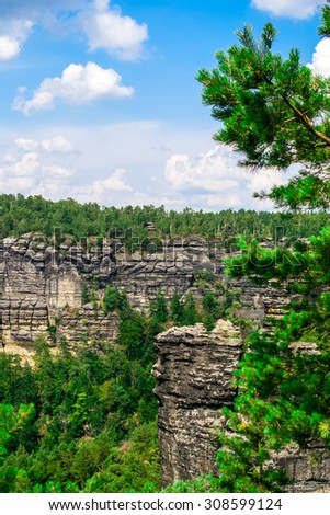 Sandstone Mountains is located in Czech Republic