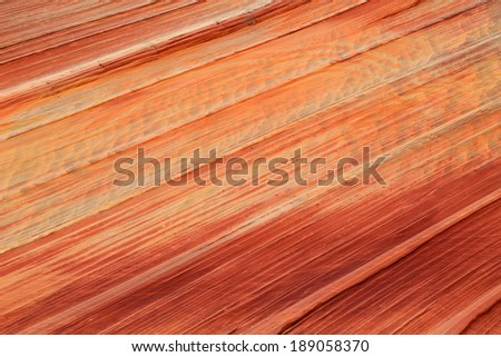 Sandstone texture background from a canyon in the Utah desert, USA. - stock photo