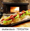 sandwich , - stock photo