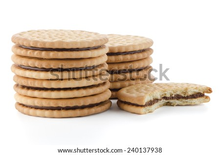 Biscuit stock photos illustrations and vector art