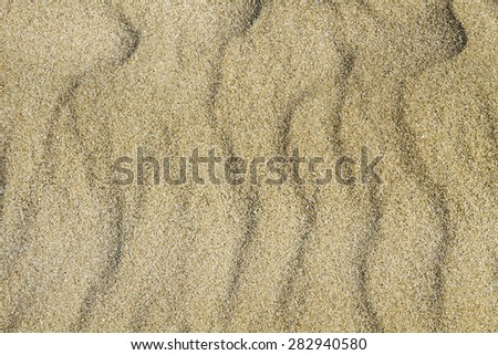 sandy bottom - stock photo