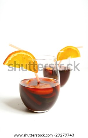 sangria on white