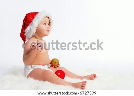 santa - stock photo
