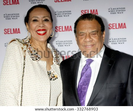 "SANTA BARBARA - DEC 6:  Andrew Young at the ""Selma"" & Legends Who Paved the Way Gala at the Bacara Resort & Spa on December 6, 2014 in Goleta, CA"