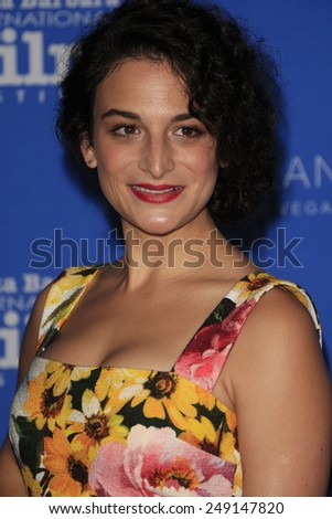 SANTA BARBARA - FEB 1: Jenny Slate at the Virtuosos Award at the 30th Santa Barbara International Film Festival at the Arlington Theatre on February 1, 2015 in Santa Barbara, CA - stock photo