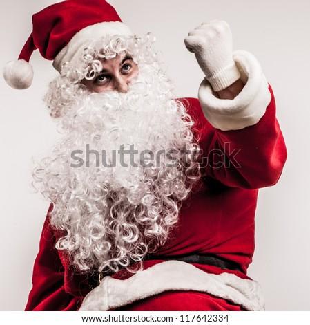 Santa Claus. - stock photo