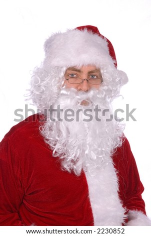 Santa Claus, A.K.A.....Saint Nick - stock photo
