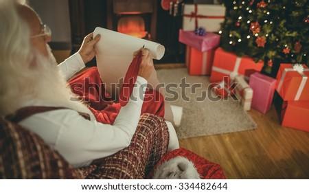 Santa Claus Presents New Year Tree Stock Photo 66171556 Shutterstock