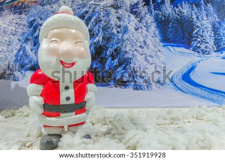 Santa Claus Smile - stock photo